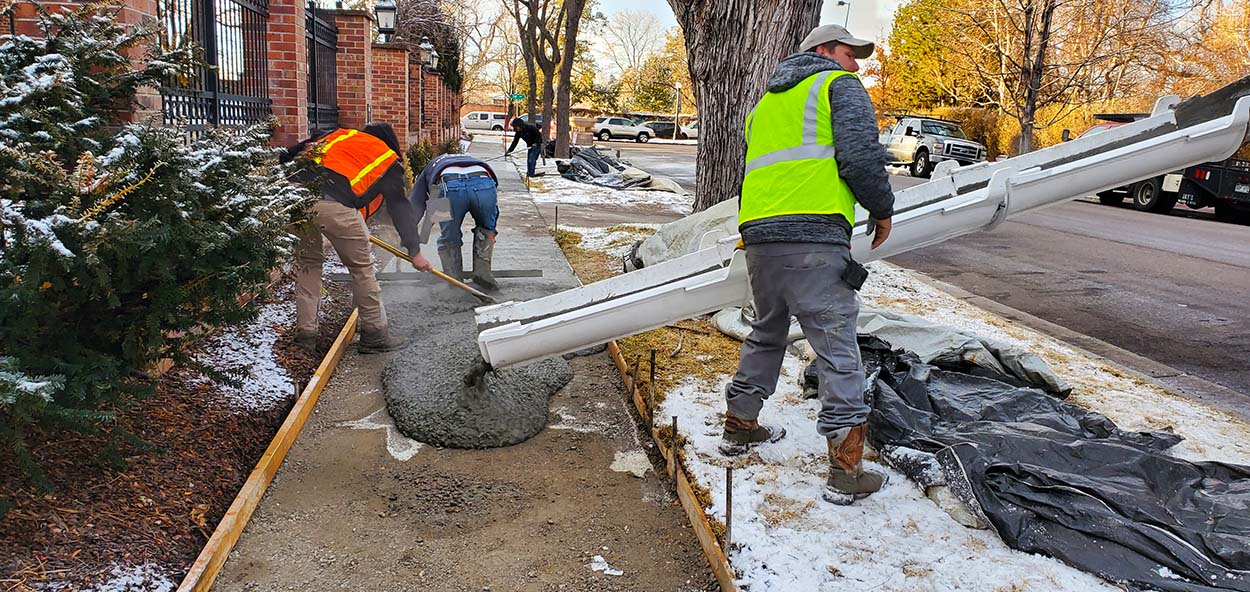 Denver sidewalk replacement