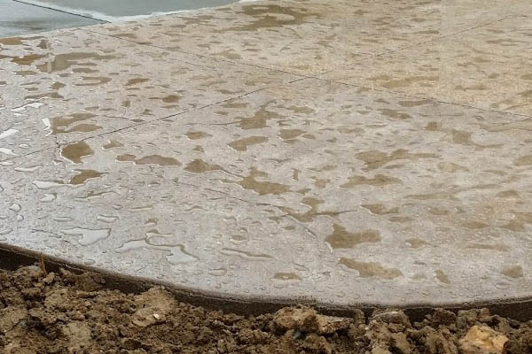 Colorado concrete company stamped concrete